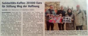 Zeitungsausschnit_Spende_24._Feb_2015